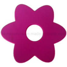 Coaster em forma de flor do silicone (RS37)