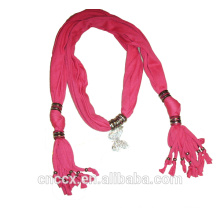 PK17ST280 Jewelry decorative knitted scarves