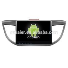 1024X600 10 pouces Glonass / GPS dual core Android 4.2 voiture multimédia pour Honda 2013 CRV avec GPS / Bluetooth / TV / 3G