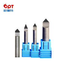 บิตแกะสลัก PCD V Shape Diamond Router Bits