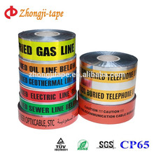 pipe buried underground detectable warning tape