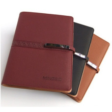 Metal Buckles Notepad, Business High-Quality Notebook