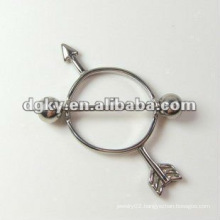 Surgical Arrow nipple barbell shield