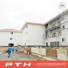 Edificio de almacén de estructura de acero personalizado de Pth