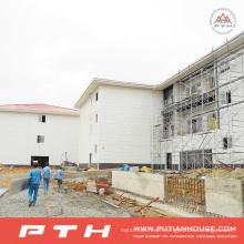 Construção de armazém personalizada da construção de aço da pth