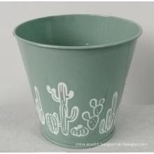 Stamping garden flower bucket