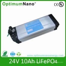 24V 10ah LiFePO4 Battery Pack for Ebike