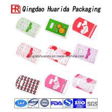 Bolsa plástica colorida del regalo de la manija linda para los niños