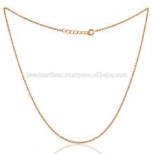 Achetez The Best Fashion Gold Plated 18 pouces en chaîne en laiton Leverlock