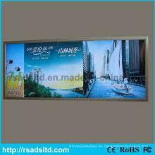 Caja de luz caliente de la tela del aluminio LED de la venta