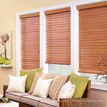 50mm Window Venetian Horizental Basswood Blinds (SGD-W-6705)