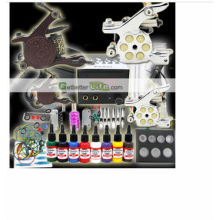 2014 Professional high qulity cheapest digital glitter Tattoo kit for hot sale tattoo gun