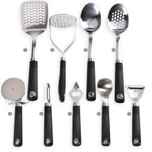 Gadgets de cuisine en acier inoxydable