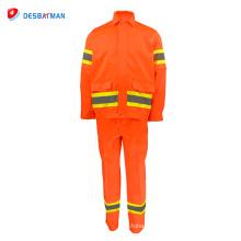 Bata ignífuga de alta calidad del fuego del workwear de la calidad superior