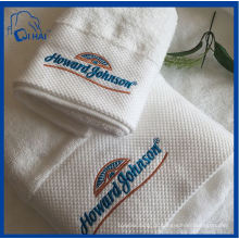 100% algodão bordado toalha de banho (qhda5590)