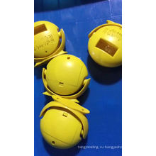 Индивидуальные пластиковые инъекции AUTO круглой формы пепельницы