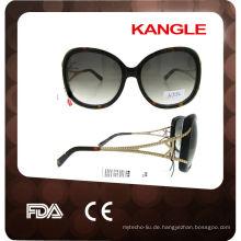 handgemachte Sonnenbrillemarkerhand handpolierte Sonnenbrille der Azetat