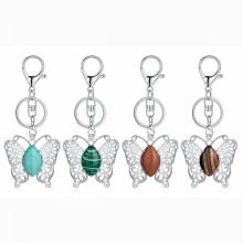 Butterfly Crystal Keychains For Women Girls Cute Animal Fashion Keyring