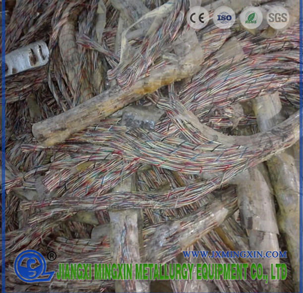 Jelly dan Telecom Cable Recycling Plant
