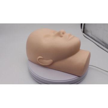 3D maquiagem Manequim cabeça cílios cílios alongamento treinamento manequim cabeça Enxertia cílios iniciantes manequim cabeça