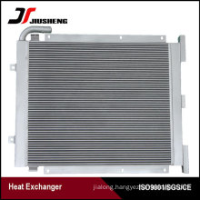 China Aluminum Plate Tractor Oil Cooler For PC220-6