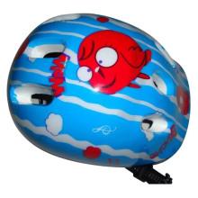 Roller Skate Kids Blue Carton Helmet