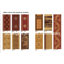 Machine Made Wilton Wide Loom Carpets