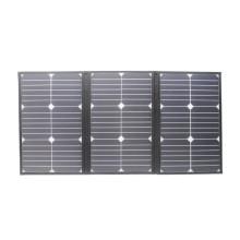 2016 Hot selling 60W flexible sunpower folding moins cher le panneau solaire