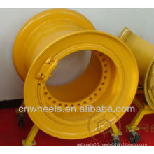 Huge OTR engineering wheel for crane (wheel size from 8inch to 63inch)