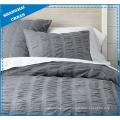 Premium Cotton Seersucker Duvet Cover Bedding Set