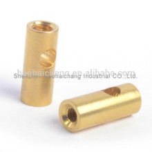 Hardware supplier automobile spare parts brass nickel plated fasteners