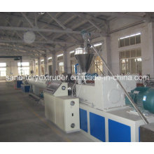 Plastic Machine HDPE Pipe Production Extrusion Line