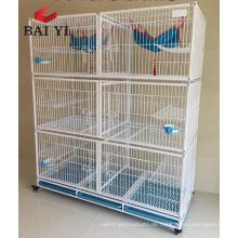Bereit Stock zwei Schicht Cat Cage für Verkauf billig