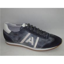 Sapatos de couro dos homens do plutônio Nx 516