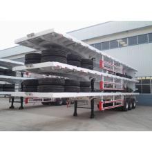 Три контейнера Цапф 30ton прицеп Бортовой Полуприцеп