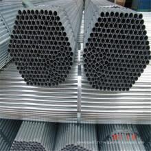 Q235 ERW échafaudage soudé en carbone à section ronde pour la construction