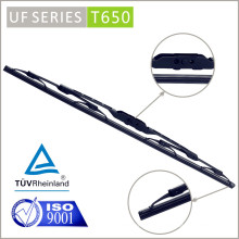 T650 Chrome Vision Saver Clean Streak-Free Silencioso Auto Parts Brazil Trooper Front Parabrisas Pasajero Driver Wiper Blade