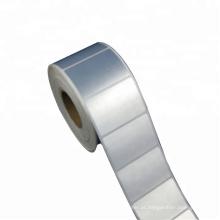 material de rótulo sintético impresso em branco anti rótulo de PET poliéster de risco