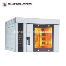 Shinelong High Quality Restaurant 4-Tray Electric fogão de convecção de bancada comercial