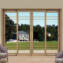 Алюминиевая раздвижная внутренняя или наружная дверь / дверь (FT-D80)