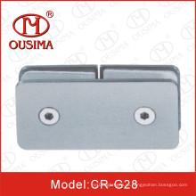 Нержавеющая сталь180 градусов душевая комната Стеклянный крепежный клип (CR-G28)