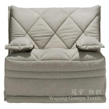 Tissu Linentte de polyester de lin de Faux pour des bâches de glissement