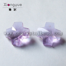 14mm 20mm Crystal Cross Color Bead