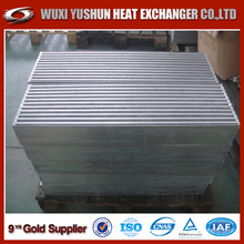 Customized Aluminum plate Fin Bar And Plate Intercooler Core