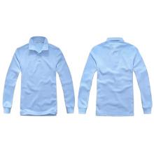 Рубашки поло новой длинней втулки способа высокого качества оптовые пустые