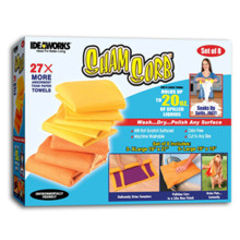 Sham Sorb Super Absorbant Chamois Cloths Drying Sets of 8