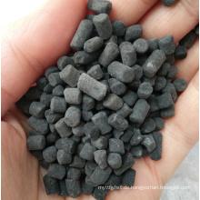 Imprägnierte sulfur-säulenförmige Aktivkohle zur Entfernung von Quecksilber (Hg)
