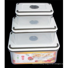 3PCS Set High Quality Plastic Container