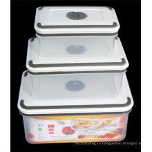 3PCS устанавливают пластичный контейнер высокого качества