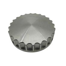 Customized cnc machining titanium oil tank cap for motorcycle
